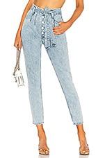 GRLFRND Daphne Super High-Rise Jean in Borderlands