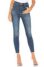 GRLFRND Kendall Super Stretch High-Rise Skinny Jean in Foxfire