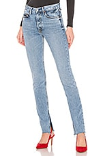 GRLFRND Addison High-Rise Split Boot Jean in Touch The Floor
