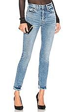 GRLFRND Karolina High-Rise Jean in Get Bent