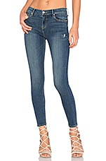 Candice Mid-Rise Super Stretch Skinny Jean in Medium You and Me Against the World