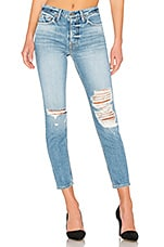 GRLFRND Karolina High-Rise Skinny in Bay Blues