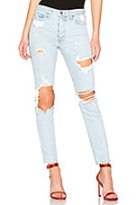GRLFRND Karolina High-Rise Skinny Long Jean in Jaggar