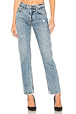 GRLFRND Helena High-Rise Straight Jean in No Limit