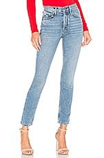 GRLFRND Karolina High-Rise Skinny Crop Jean in Light Years