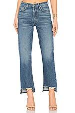 Helena High-Rise Straight Jean in Bittersweet
