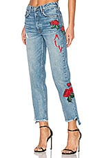 GRLFRND x REVOLVE Helena High-Rise Straight Jean in Day After Day