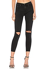 GRLFRND PETITE Candice Mid-Rise Skinny Jean in Love Hangover