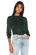 GRLFRND Marco Sweater in Evergreen Lurex