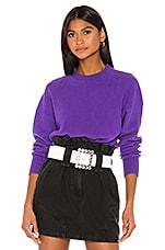 GRLFRND Rosalie Sweater in Purple