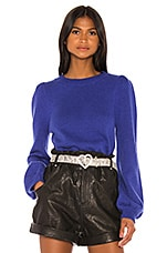 GRLFRND Penelope Sweater in Princess Blue