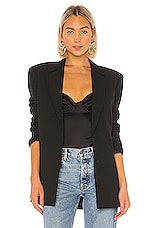 GRLFRND Power Blazer in Black