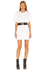 GRLFRND Paulie Oversized Tee Shirt in White
