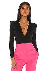 GRLFRND Eryka Bodysuit in Black