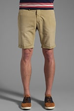 Canvas Short in Fudge