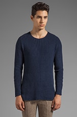 The Cutpurse Pullover in Navy