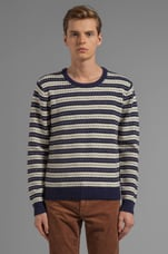 Stripe Jacquard Sweater in Multi