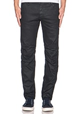5620 3D Low Tapered Comfort Pintt Denim Biker en 3D Dark Aged