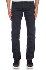 3301 Low Tapered Mercury Denim in 3D Aged