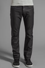 3301 Straight en Brace Denim Raw