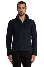 Raw Radar Jacket en Bleu Mazarin