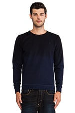 Dottlevel Sweatshirt in Indigo