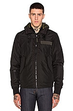 Submarine Hooded Bomber en Noir