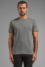 Crew Neck Double Pack in Castor Heather