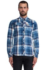 Tailor Plaid Shirt in Medium Aged