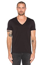 2 Pack V-Neck Tees in Black