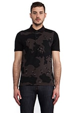 Joakim Camo Polo in Black