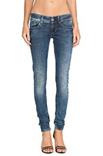 Lynn Skinny Comfort Malk Denim Medium Aged