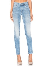 3301 Ultra High Super Skinny Jean en Light Aged