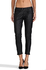 Raw Radar Skinny Ankle Pant in Black