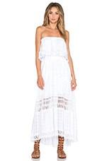 Gypsy 05 Strapless Maxi Dress in White