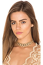 Teras Choker in Gold