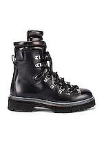 HAZY Grant Combat Boot in Black