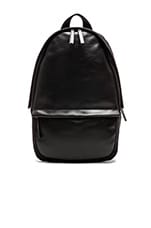 Pattern Series Shell Backpack in Black