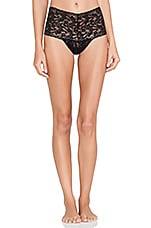 Hanky Panky Retro Thong in Black