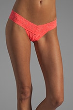 Signature Low Rise Thong in Punch