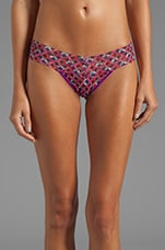 Mosaic Low Rise Thong in Multi
