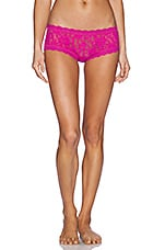 Signature Lace Boyshort in Tulip Pink