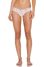 Fleur Dot Low Rise Thong in Multi