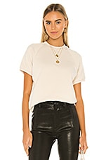x karla The Short Sleeve Sweatshirt in Cream