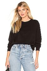x karla The Crew Sweatshirt in Black