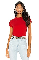 x karla The Crew Tee in Red