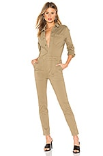 MONROW Fitted Jumpsuit in Olive