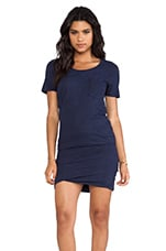 Granite Pocket T Dress in Navy