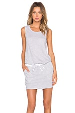 ROBE COURTE LINEN BASICS DRAWSTRING