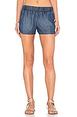 Tencel Denim Short en Denim Wash